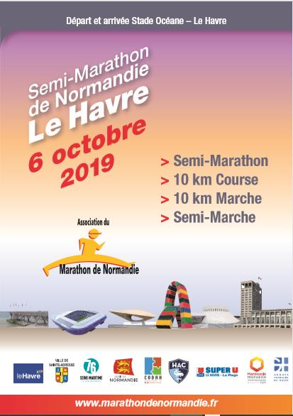 Calendrier Semi.Semi Marathon De Normandie 2019 Psn Preaux